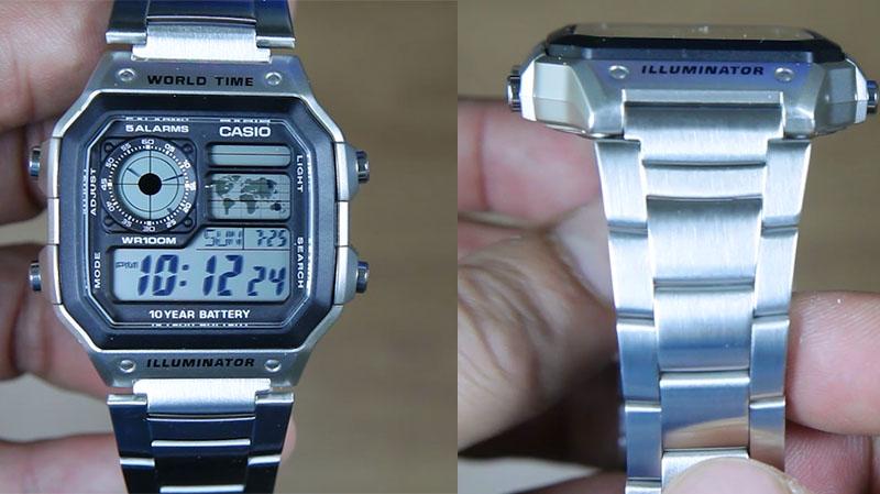 "Bernilai ekonomis tidak membuat jam Casio AE-1200WHD-1AV ini dibekali dengan  material murahan seperti pada jam ""bajakan"" yang saat ini banyak beredar di  ... ca5eab28cb"