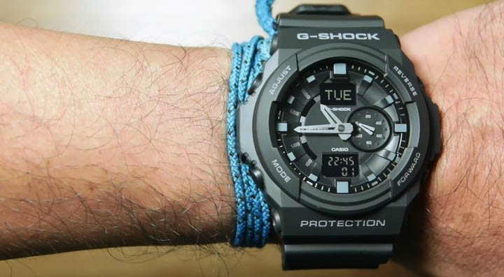 Review Jam Casio G-Shock GA-150-1A – indowatch.co.id