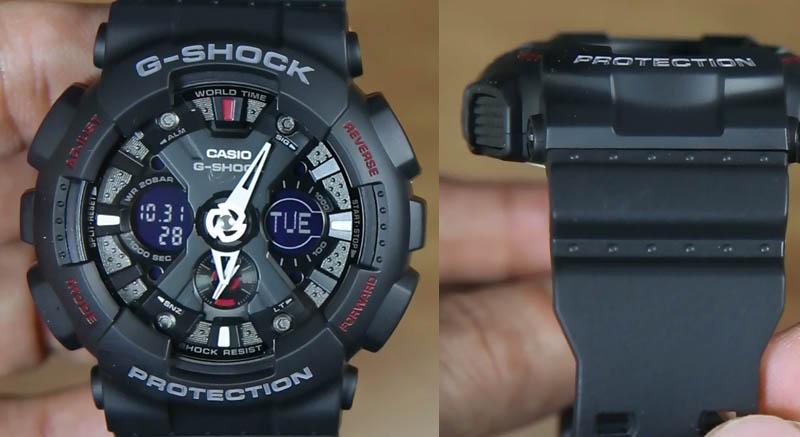 Dengan ketebalan yang dimiliki oleh jam Casio G-Shock GA-120-1A ini ed0b2ce855