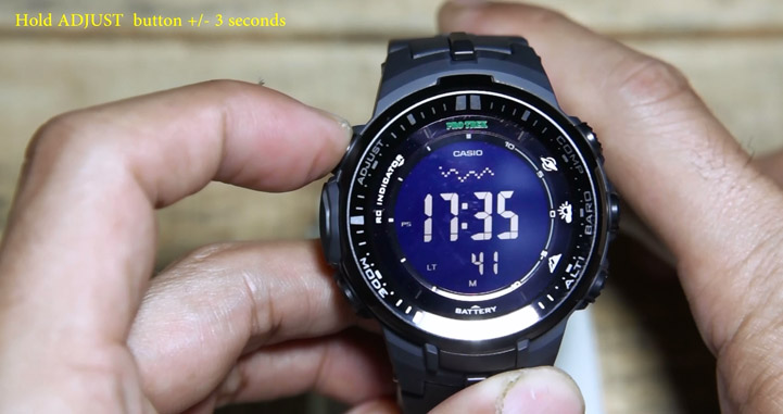 Cara setting dasar jam Casio Protrek ( PRW-3000 ) – indowatch.co.id be3f67d94c