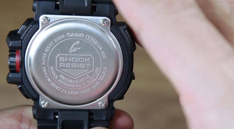 reputable site ae625 54e1b Casio G-Shock GA-400-1B