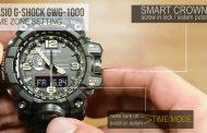 Cara setting dasar jam casio g-shock mudmaster GWG-1000