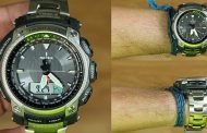 Review Casio Pro-Trek PRG-505T-7, jam outdoor analog dengan material titanium
