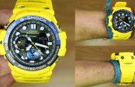 Review Casio G-Shock GN-1000-9A, jam twin sensor berkelir lamborghini