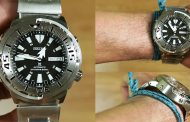 Review SEIKO PROSPEX SRP637K1 AUTOMATIC Monster Baby Tuna