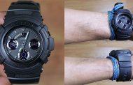 Review Casio G-Shock AW-591BB-1A, jam serba hitam dengan tampilan menggoda