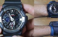 Review Casio G-Shock GA-200-1A, jam bermuka lebar dengan sistem analog digital