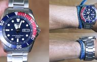 Review SEIKO 5 SNZF15 AUTOMATIC STAINLESS STEEL, jam diver keren dengan dial biru