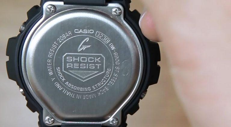 как настроить время на g shock resist для