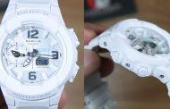 Review Casio Baby-G BGA-230-7B, jam serba putih bagi kaum hawa