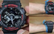 Review Casio G-Shock GA-110HR-1A, jam unik dengan perpaduan dual tone resin band
