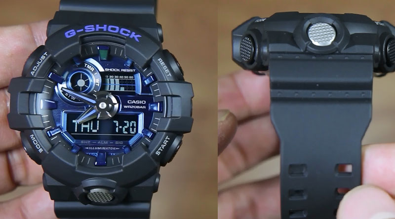 low priced 1ea10 887bc Casio G-Shock GA-710-1A2