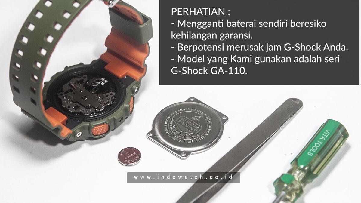 Cara Mengganti Sendiri Baterai Batere G Shock Modal Rp 12 000 Indowatch Co Id